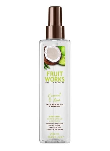 Fruit Works Coconut & Lime Vücut Spreyi 250 ml Renksiz